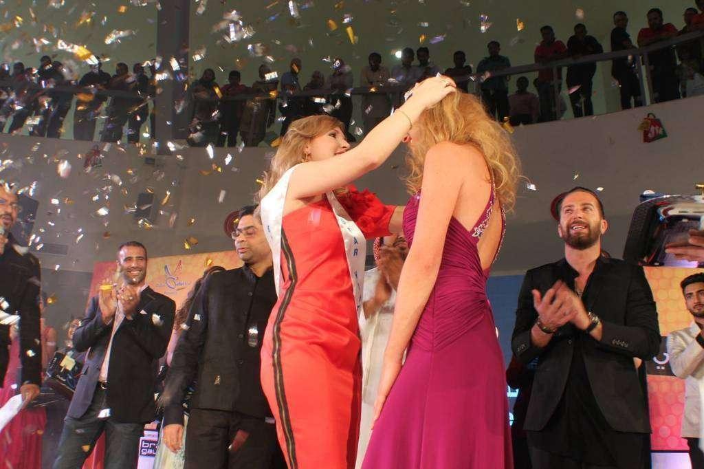 Concurso de belleza Star Hunt 2015, que tuvo lugar en Dubai Outlet Mall con la organización de LS Productions.