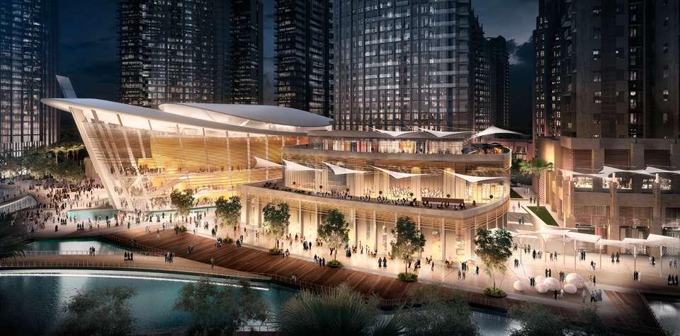 La Ópera de Dubai se inaugurará en el mes de agosto.