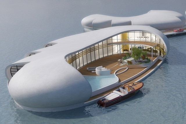 Nuevas Casas Flotantes Futuristas De Superlujo En Dubai
