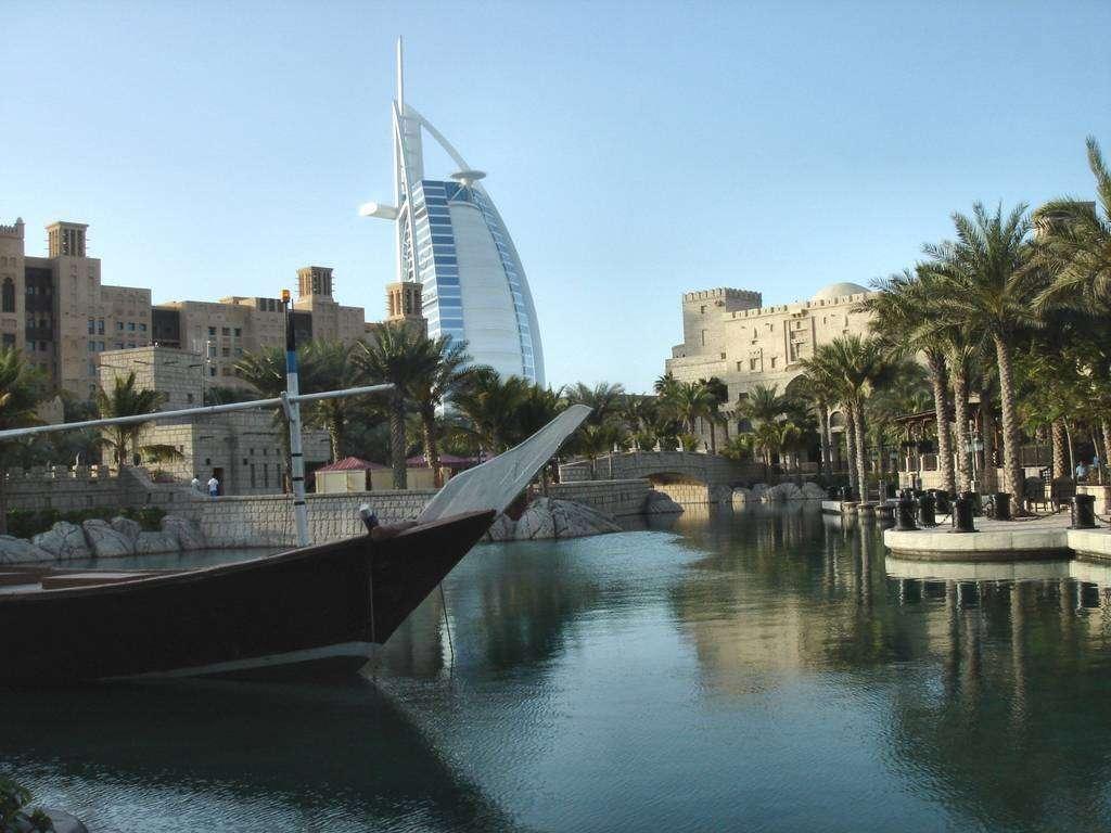 Madinat Jumeirah en Dubai.