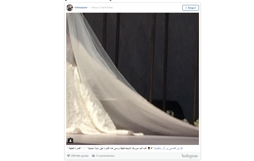 Así fue la boda real de la hija de Sheikh Mohammed   EL CORREO del GOLFO