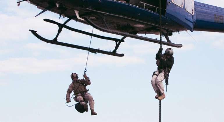 Los profesionales militares son muy necesarios en Oriente Medio.
