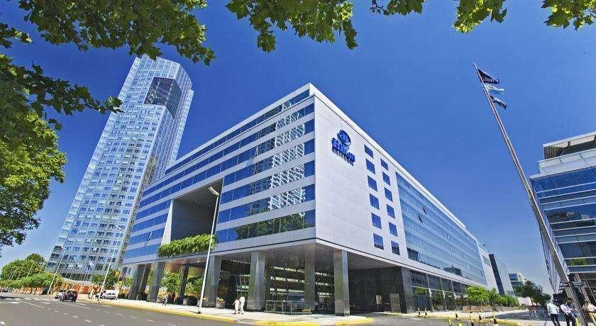 Una imagen del hotel Hilton en Buenos Aires.