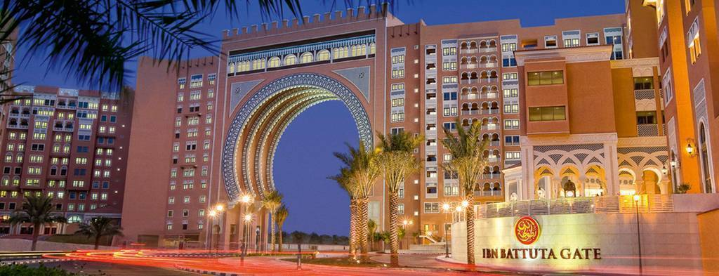 Hotel Movenpick de Ibn Battuta.