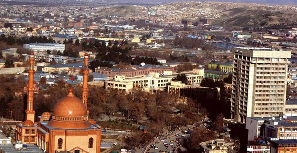 Una imagen de Kabul, capital de Afganistán.