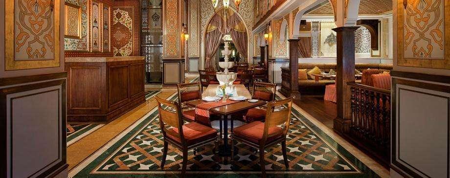 Restaurante del hotel Jumeriah Zabeel en La Palmera de Dubai. (EL CORREO)