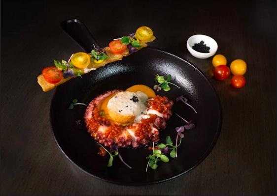 Uno de los platos que puedes encontrar en el restaurante España, ubicado en Al Garhoud. (Cedida)