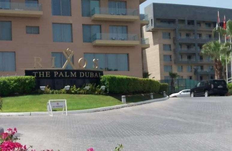 El Chiringuito Ibiza se encuentra en el hotel Rixos de La Palmera de Dubai. (EL CORREO)
