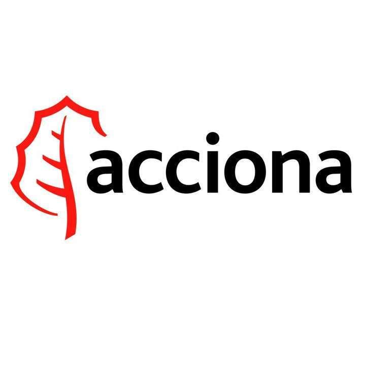 Logo de la empresa española Acciona.