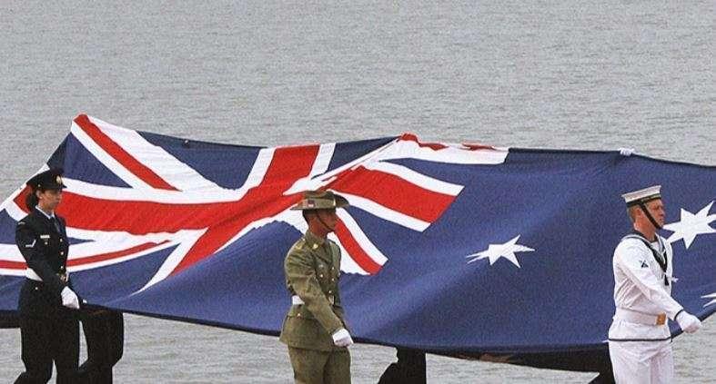 Miembros del Ejército australiano.