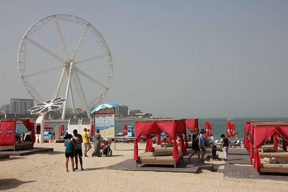 Jumeirah Beach Residence en Dubai. (EL CORREO)