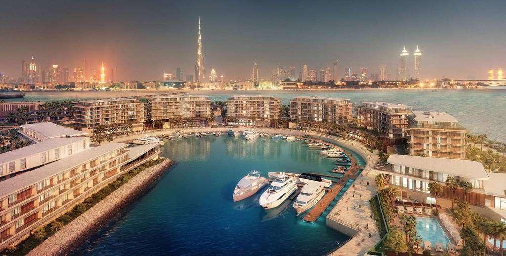 Una imagen del hotel Bulgari Dubai.