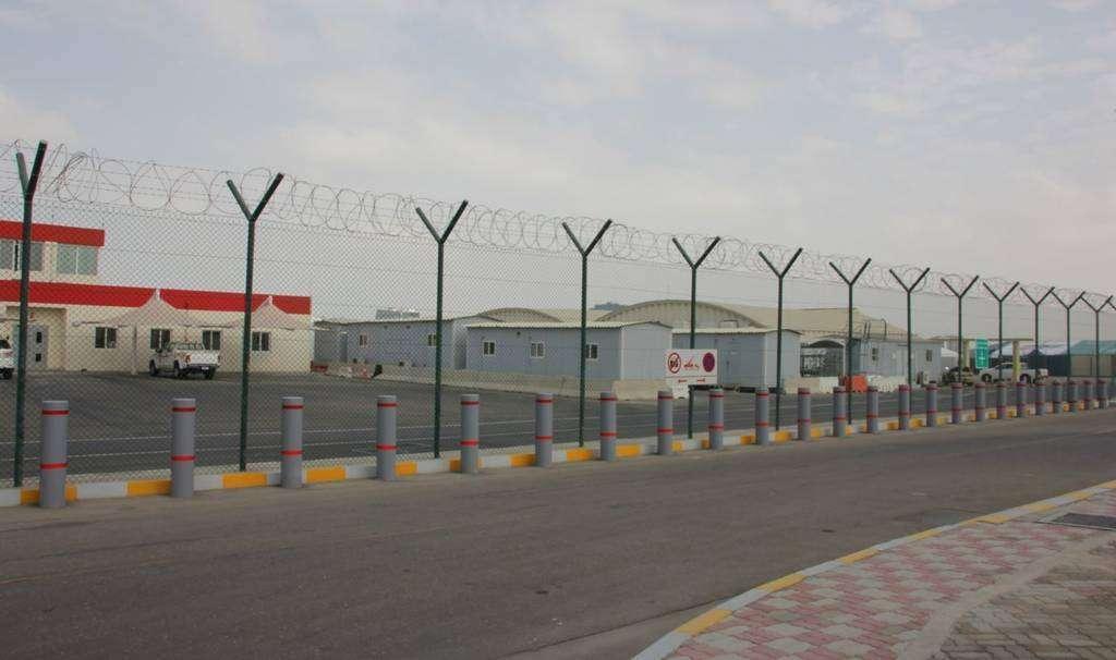 Una imagen del Aeropuerto Al Bateen de Abu Dhabi.
