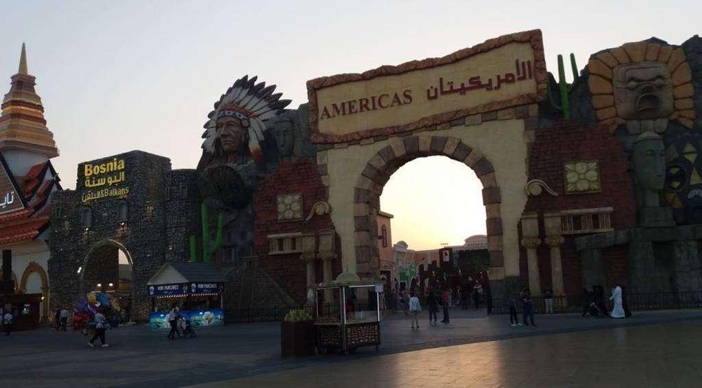 Pabellón de América en el Global Village de Dubai. (EL CORREO)