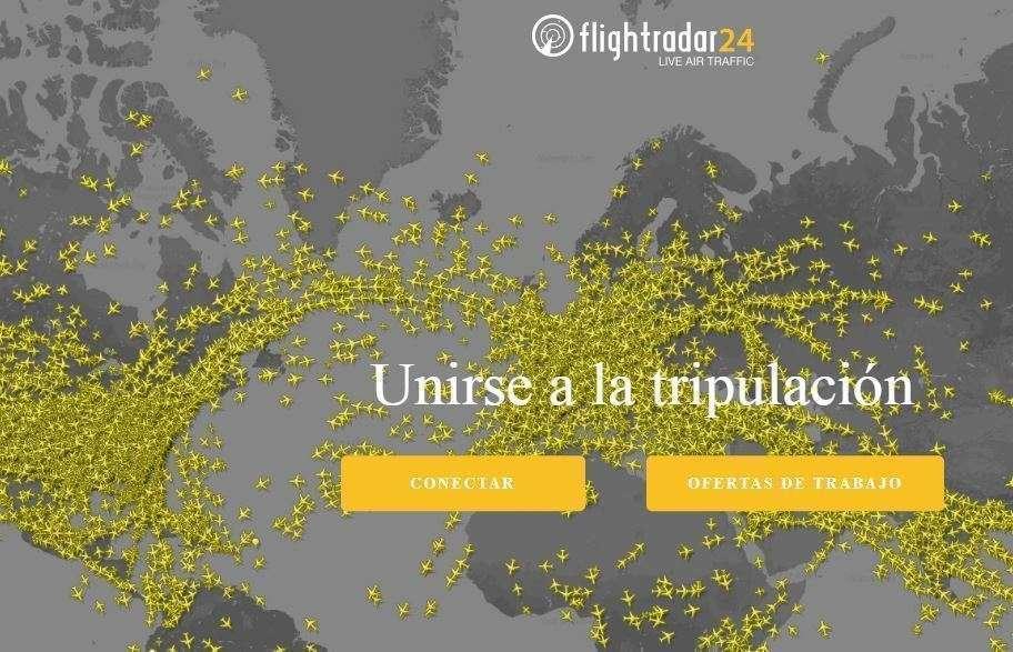 Flightradar24 es la web más famosa de la aviación.