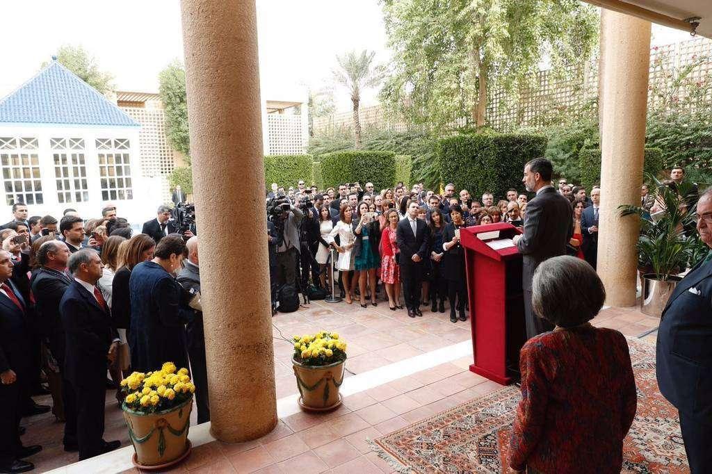 Embajada de España en Riad.