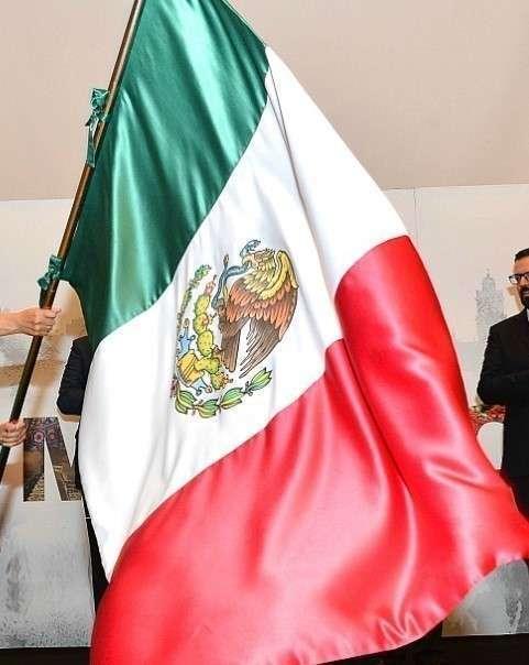 Bandera de México. (EL CORREO)