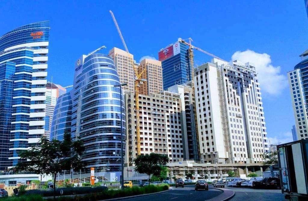 Una imagen de Business Bay en Dubai. (EL CORREO)