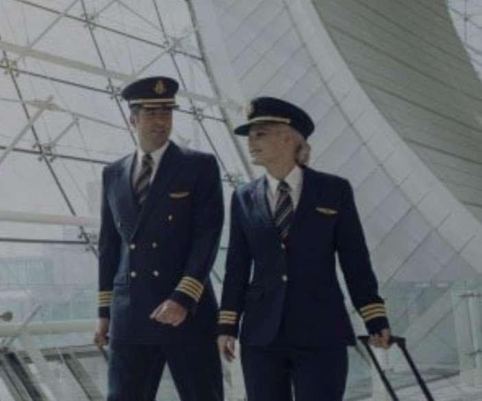 Pilotos Emirates.