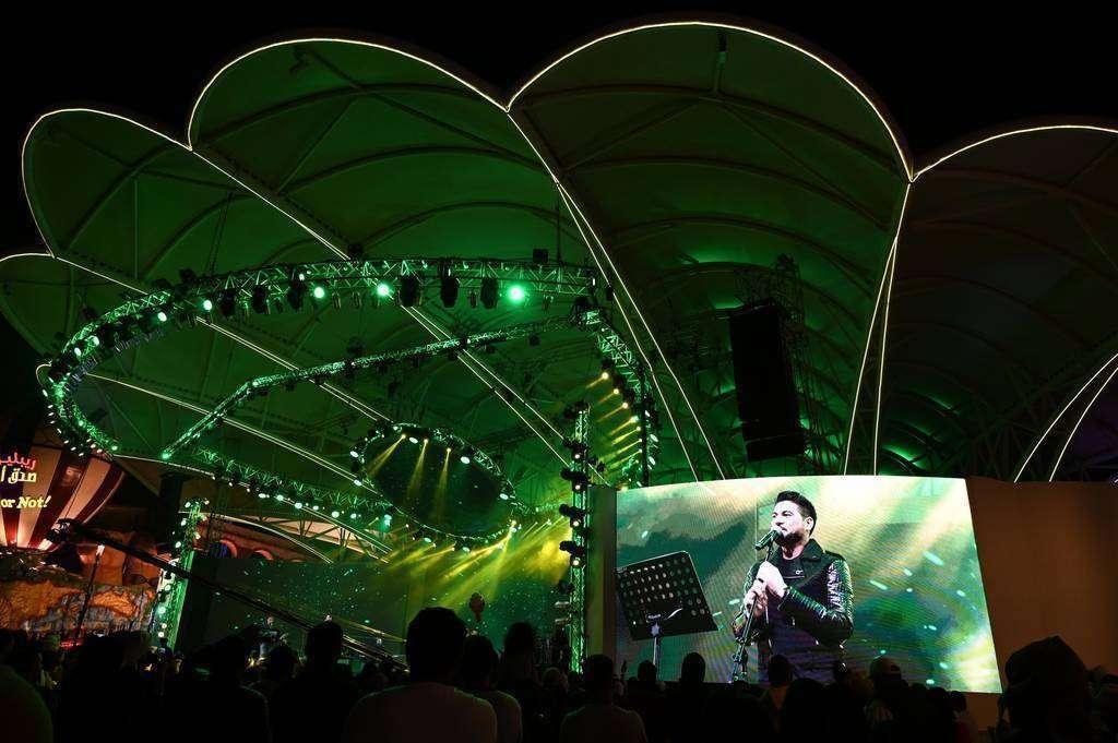 Concierto  del reconocido cantante iraquí Whaleed Al Shami (EL CORREO)