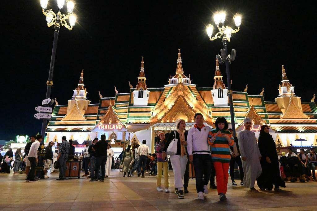 Pabellón de Thailandia. (EL CORREO)