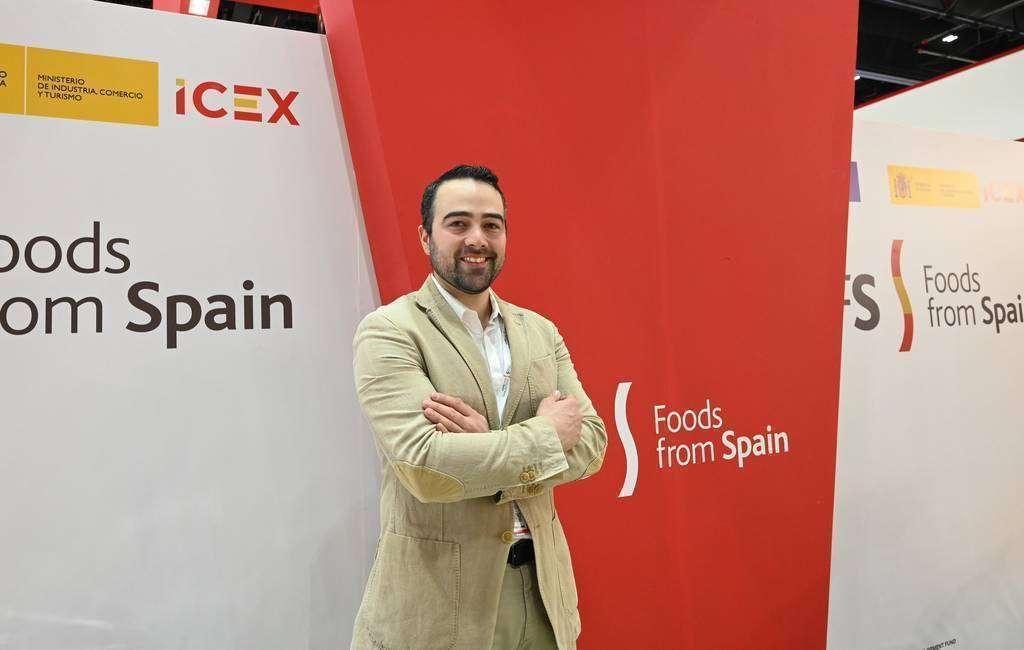 Alejandro Parín, representante de España, Exportación e Inversiones (ICEX). (EL CORREO)