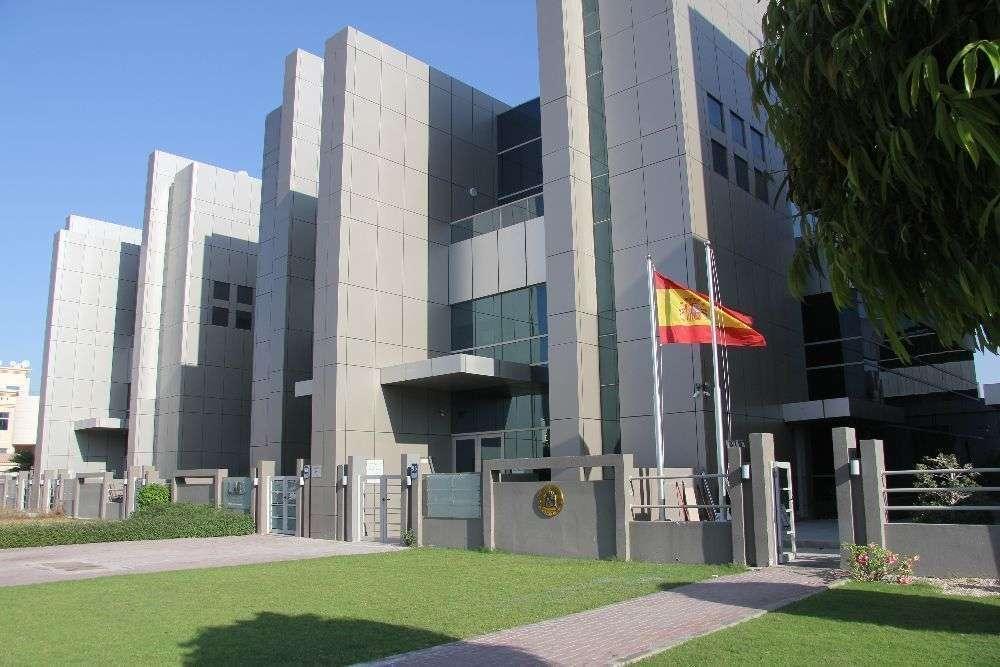 Sede de la Embajada de España en Abu Dhabi. (EL CORREO)