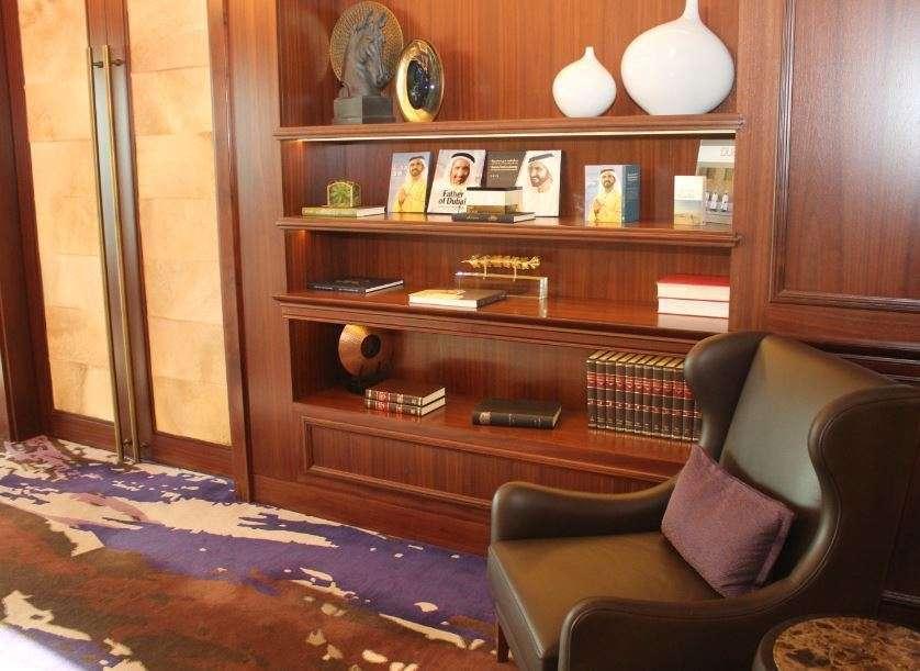 Un despacho en Dubai. (EL CORREO)
