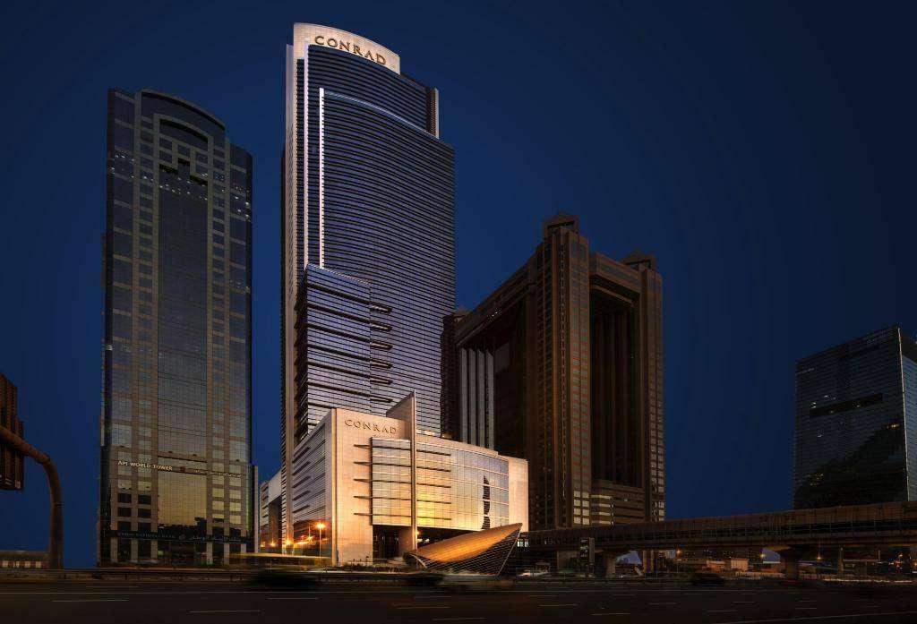 Una imagen del hotel Conrad de Dubai. (Fuente Externa)