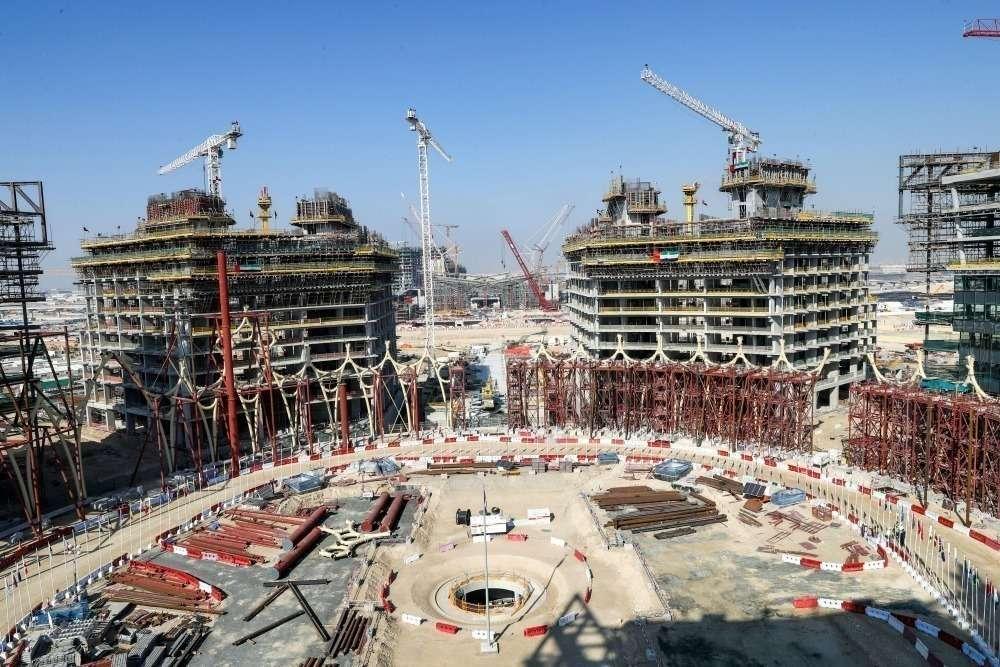 La Expo 2020 de Dubai crece día a día. (WAM)