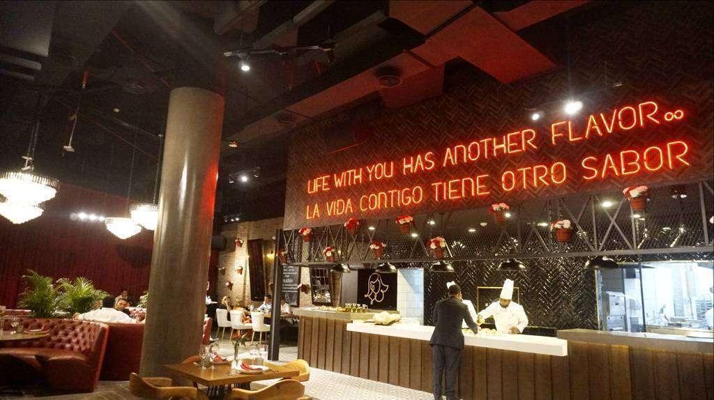 El restaurante Carmen sorprendió con su decoración y ambiente. (Cedida)