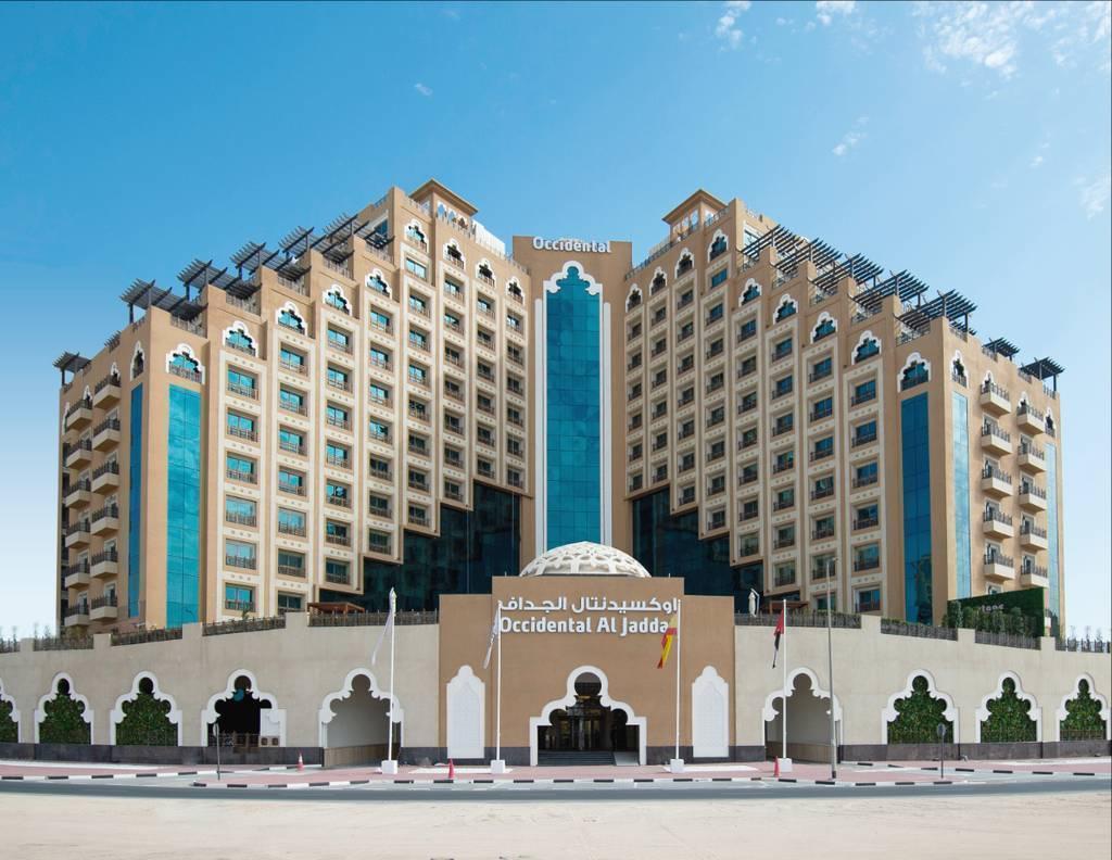 Hotel Occidental Al Jaddaf, que ha abierto recientemente sus puertas en una privilegiada zona de Dubai. (Cedida)