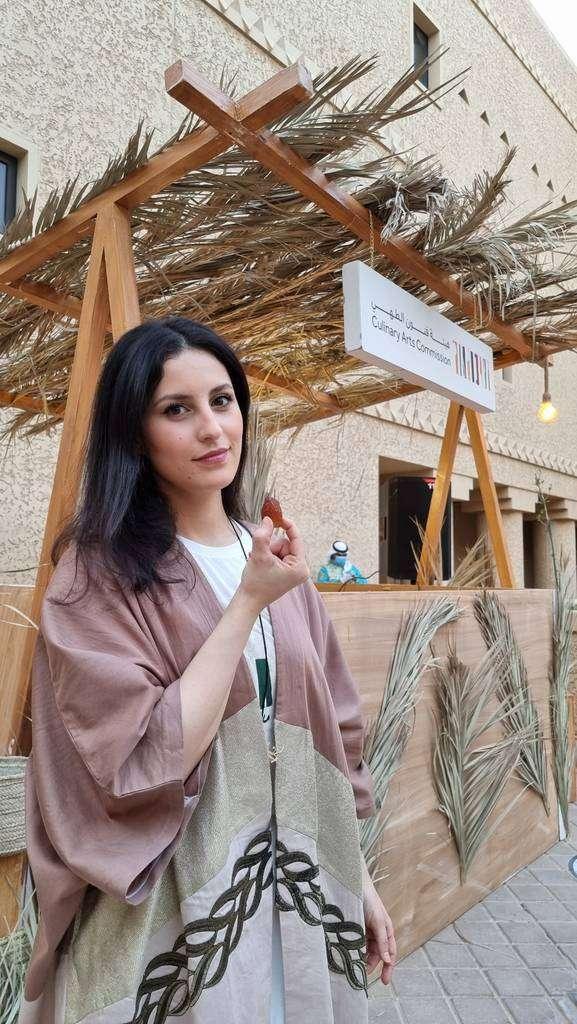 Djamila Benchaid, en una imagen profundamente árabe. (Cedida)