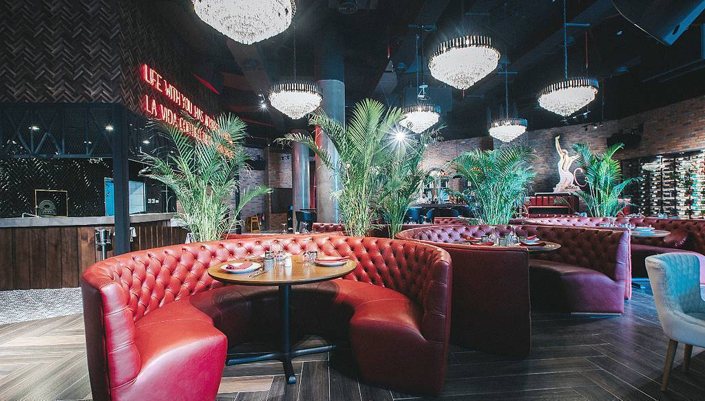 El acogedor restaurante español Carmen, situado en el corazón de Dubai. (Cedida)