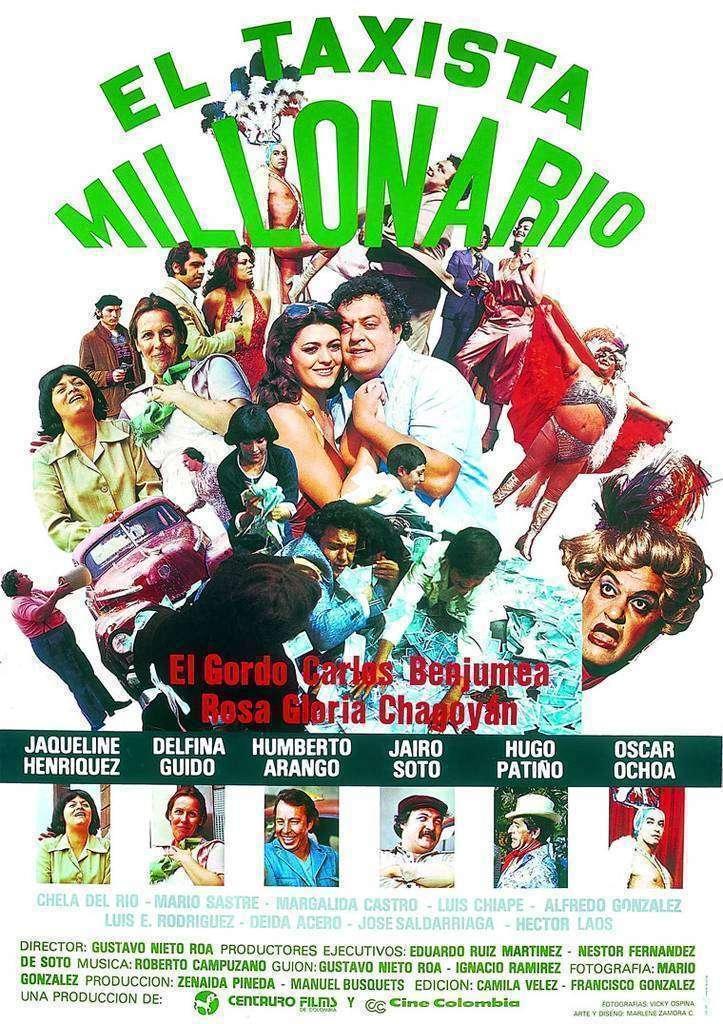Cartel de la película 'El Taxista Millonario'.