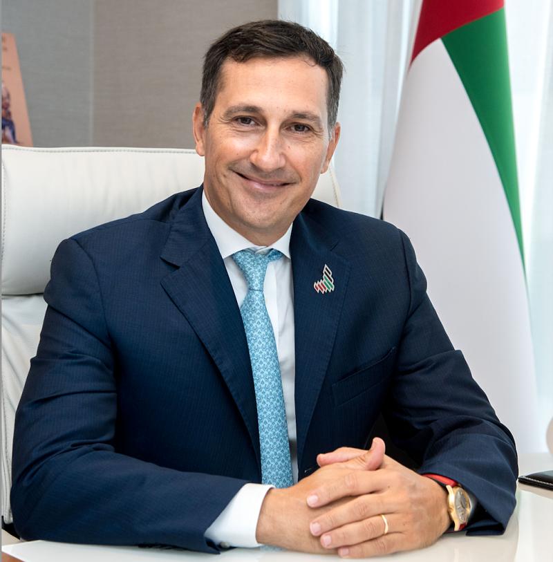 El director ejecutivo de Etihad Credit Insurance, Massimo Falcioni. (Cedida)