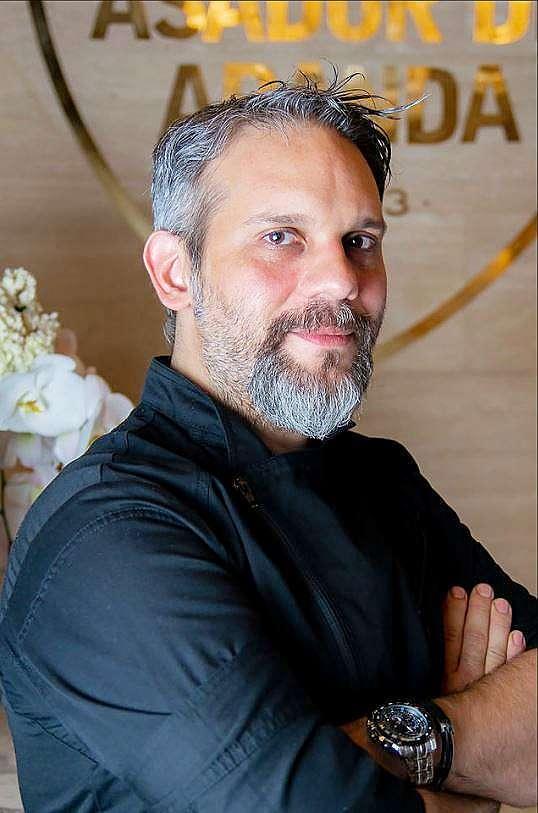 Antonio Santos Probst, chef ejecutivo de Asador de Aranda en Dubai. (EL CORREO)