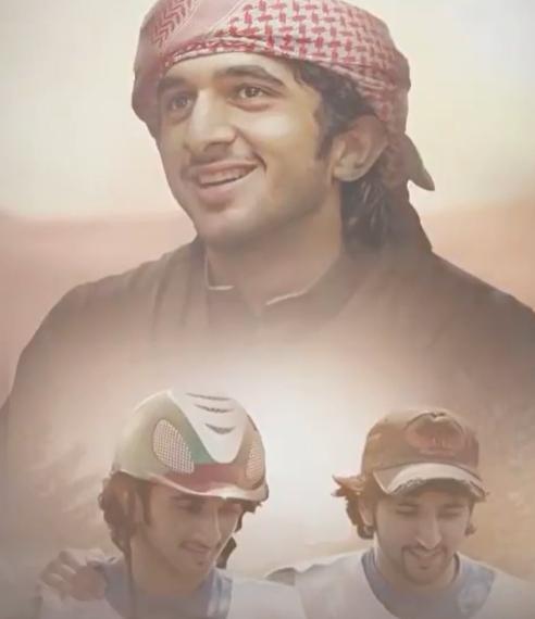 Un recorte del vídeo compartido por el jeque Hamdan en Instagram.