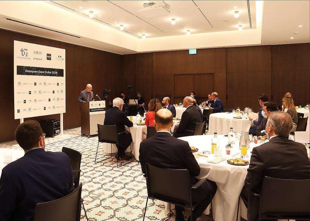 Perspectiva del acto de presentación de Expo 2020 Dubai en Madrid. (Cedida)