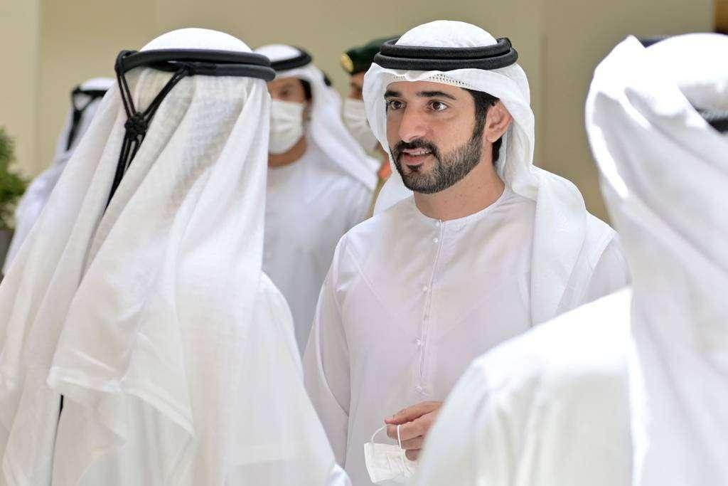 El príncipe heredero de Dubai, durante un encuentro. (WAM)